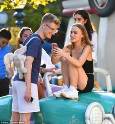 Family matters: Lily-Rose is Johnny Depp's child by Vanessa Paradis, whom he'd never wed but was with for 14 years between his failed marriages to Lori Ann Allison and Amber Heard