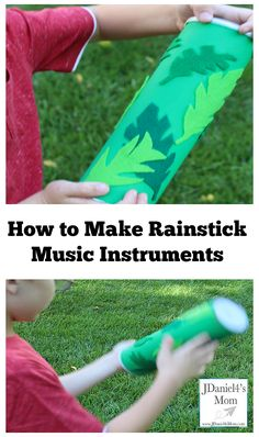 Here is how to make rainstick music instruments at home