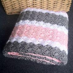 Crochet Girl Baby Blanket - Hand
