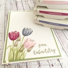 Gastgeberin Set Tranquil Tulips von Stampin´Up!