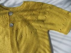Tricot pour petite fille // Knitting