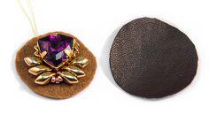 Мастер-класс: вышитые серьги «Королевский пурпур» - Ярмарка Мастеров - ручная работа, handmade