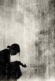 Whitewash of Late Summer Rain on Dark Mountains (by Tyler Knott)