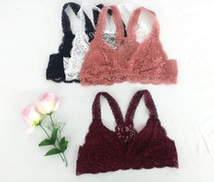 Hey, I found this really awesome Etsy listing at https://www.etsy.com/uk/listing/245150185/racerback-lace-bralette-bustier-bra-top