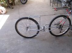 Carro Remolque Para Bicicleta Monorueda