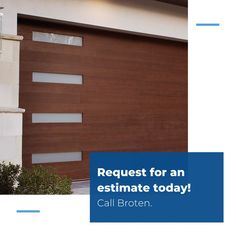 Broten Garage Door Sales is your full service garage door company. If you need a new garage door or need one repaired, give us a call anytime at 954-946-5555. Garage Doors For Sale, Garage Door Company, Modern Garage Doors, Palm Beach County, South Florida, Outdoor Decor, Home Decor, Decoration Home, Room Decor