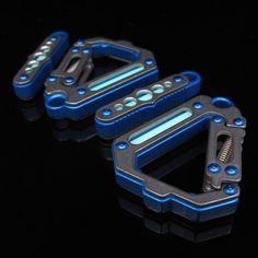 MachineClip carabiners Titanium over anodized Everyday Carry Gear, Edc Gear, Tech Gadgets, Keychains, Gears, High Tech Gadgets, Gear Train, Key Fobs, Key Chains