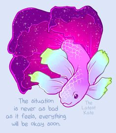 If You're Feeling Anxious, Just Take A Deep Breath And Look At These 9 Illustrations- http://thelatestkate.tumblr.com/