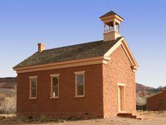 Old school house ~ Grafton, Utah