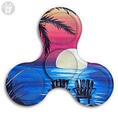 Tri Spinner Spinner Fidget Toy Hand Spinner Sunset Beach New German Boredom - Fidget spinner (*Amazon Partner-Link)