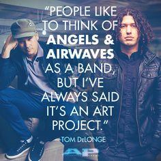Angels & Airwaves (Issue AP 318 // Jan 2015)