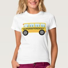 Superintendent Gift (School Bus) T Shirt, Hoodie Sweatshirt