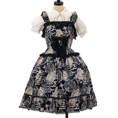 http://www.wunderwelt.jp/products/detail6325.html ☆ ·.. · ° ☆ ·.. · ° ☆ ·.. · ° ☆ ·.. · ° ☆ ·.. · ° ☆ Grimoire pattern jumper skirt of the month Yonomori ALICE and the PIRATES ☆ ·.. · ° ☆ How to order ↓ ☆ ·.. · ° ☆ http://www.wunderwelt.jp/user_data/shoppingguide-eng ☆ ·.. · ☆ Japanese Vintage Lolita clothing shop Wunderwelt ☆ ·.. · ☆ #egl