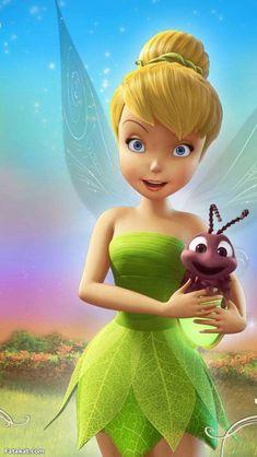 Bambi Disney, Tinkerbell Disney, Tinkerbell Fairies, Arte Disney, Disney Fairies, Disney Love, Disney Frozen, Tinkerbell Characters, Tinkerbell And Friends