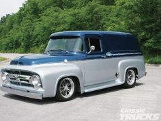 1956 Ford F100 Panel Front