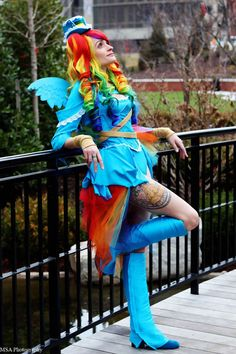 My Little Pony - Steampunk Rainbow Dash Cosplay Cute Cosplay, Amazing Cosplay, Cosplay Outfits, Best Cosplay, Cosplay Girls, Cosplay Costumes, Female Cosplay, Anime Cosplay, Cosplay Ideas