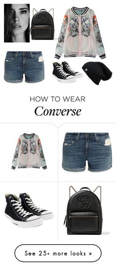 """""""Mix and Match Shorts"""" by anandiek on Polyvore featuring Gucci, rag & bone and Converse"""