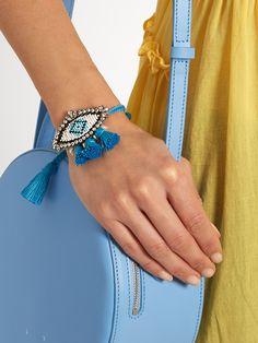 Hippie Athna evil-eye bracelet   Shourouk   MATCHESFASHION.COM US