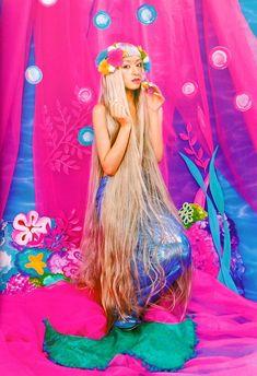 Little Mermaid Chiaki Kuriyama Steam Punk, Festivals, Grunge, Pastel Sky, Kawaii, Party Fashion, Women's Fashion, Magical Girl, Fantasy Creatures