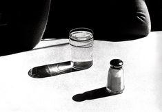 Ralph Gibson, still life, salt, tabletop