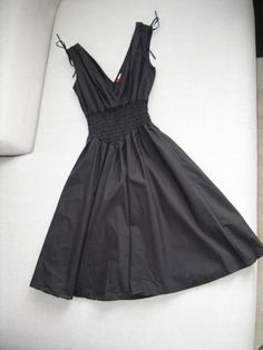 Available @ TrendTrunk.com Summer Black Dress. By H  M. Only $25.00!