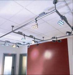 aranżacja wnętrz - Wykorzystano oprawę Reflektor Round Single LED 4500K (D777026) – Deko Light  /oświetlenie LED/