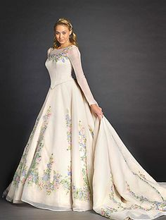 New (Live-Action) Cinderella - Disney Princess Wedding Dresses and Bridal Gowns from Alfred Angelo Disney Princess Dresses, Cinderella Dresses, Cinderella Wedding, Disney Dresses, Cinderella Movie, Movie Wedding Dresses, Wedding Movies, Princess Wedding Dresses, Bridal Dresses