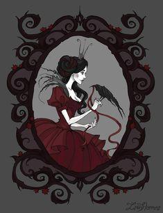 Dark fantasy and gothic stuff | 42 фотографии