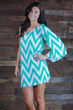 one shoulder chevron dress « Bella Forte Glass Studio