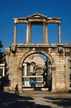 Hadrian's Arch.