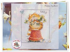 Project 2014: 14/40 May (Margaret Sherry-Calendar Cats)