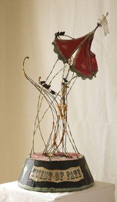 Wire Sculpture work Tammy Smith