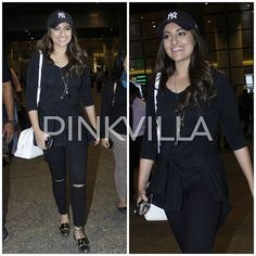 Airport Dairies: Sonakshi Sinha makes a stylish appearance at the Airport! Like her look? @pinkvilla 😍 . . #pinkvilla #sonakshisinha #airport #spotted #instapic #instalike #instacomment #instashare #instamoment #instahot #hot #sexy #stylish #style #fashion #glam #celebstyle #celebfashion #traveldairies #bollywoodstar #actress #lovely #beauty #akira #instagood #star