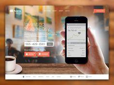 Acorns Marketing Website