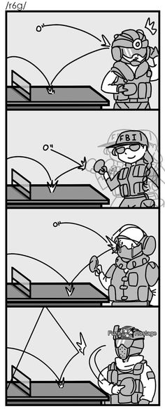 German Power | Rainbow Six Siege | Know Your Meme