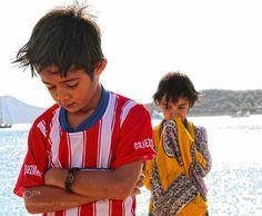 Two Boys in the Beach II by RodrigoCastilloMurillo