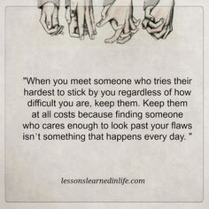 Lessons Learned in Life | Someone who cares enough.