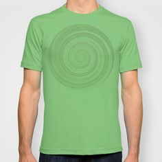 Re-Created Spin Painting No. 4 T-shirt by #Robert #Lee - $18.00 #art #spin #painting #drawing #design #circle