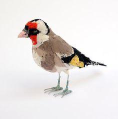 des oiseaux en tissu d'Abigail Brown... chous:)