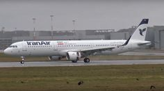 Iran Air Airbus A321-211 (wearing a pre-delivery German registration; now registered EP-IFA)