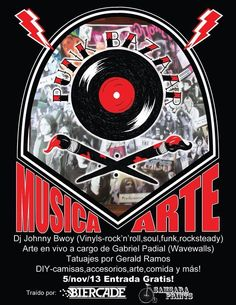 Punk Bazaar @ Biercade, Viejo San Juan #sondeaquipr #punkbazaar #biercade #viejosanjuan