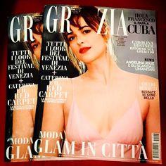 Dakota Johnson on the cover of Grazia magazine (via @FannyNoSe )