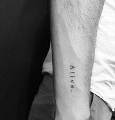 Small Tattoos Men, Lower Arm Tattoos, Trendy Tattoos, Best Tattoos For Men, Feminine Tattoos, Wörter Tattoos, Arrow Tattoos, Cool Tattoos, Tattoo Drawings