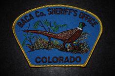 Baca County Sheriff Patch, Colorado