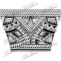 Polynesian tattoo for the lower arm.