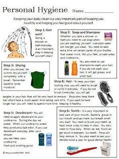 Life Skills - Personal Hygiene, comes