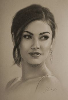 Celebrity Pencil Portraits - Megan Fox