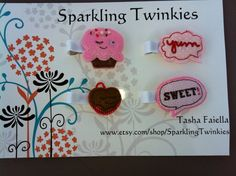 Sweet and Cute Ice Cream CLIP PACK  Cute by SparklingTwinkies, $6.00