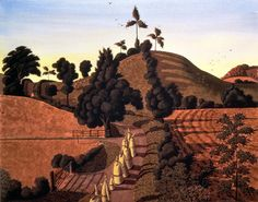 Procession on the Summer Solstice Simon Palmer Oil Painting For Sale, Garden Painting, Landscape Art, Landscape Paintings, Landscapes, Fields In Arts, Leave Art, Field Of Dreams, Paintings I Love