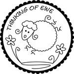 Thinking of Ewe- would be cute in the bottom of a mug, so they see it every time they drink.